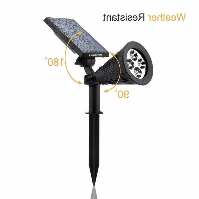 Urpower Solar Lights, Waterproof Spotlight Wall Li