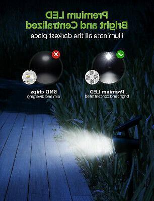 InnoGear Lights, Waterproof 3 Solar Spotlights Wall