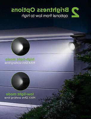 InnoGear Solar Waterproof 3 Spotlights Adjustable