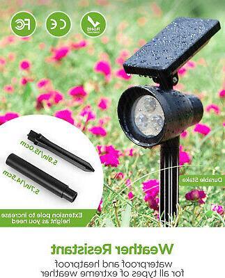 InnoGear Solar Lights, Waterproof LED Spotlights