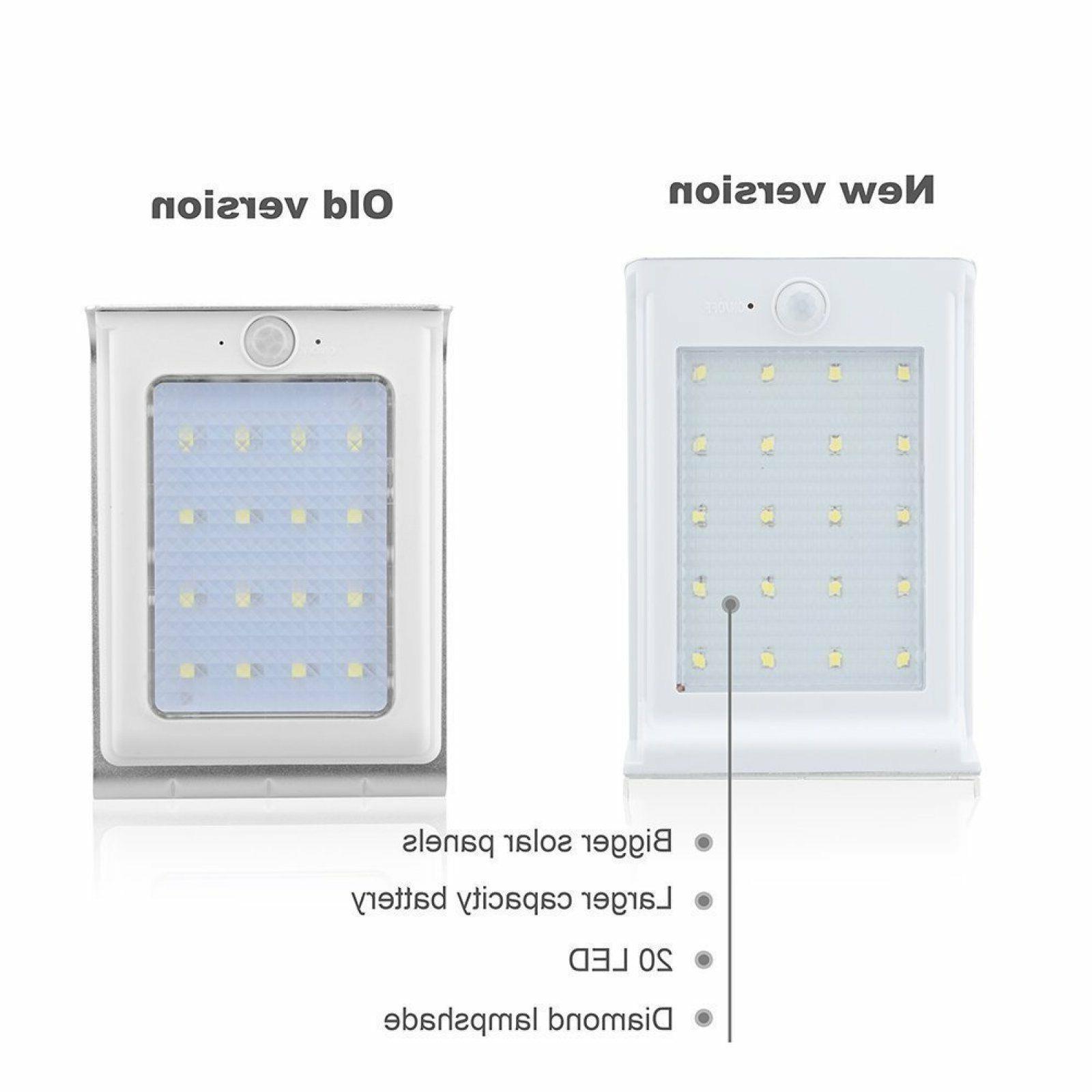 Solar Lights, LED Solar Sensor Powered
