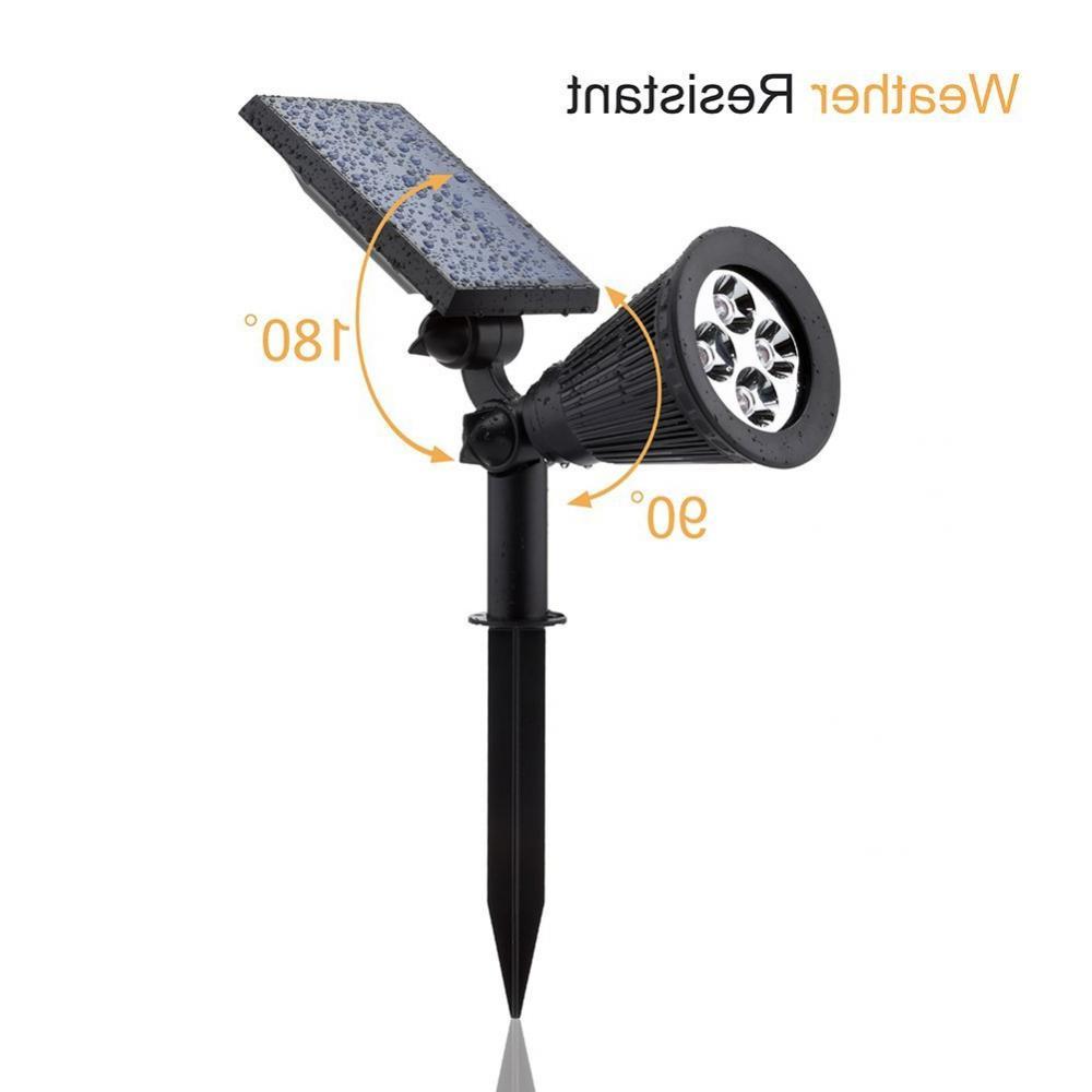 Solar Urpower 2in1 Waterproof 4 Spotlight Wall Light