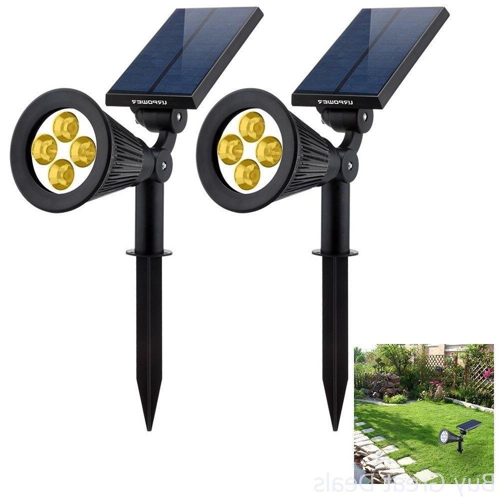 solar lights 2in1 waterproof 4 led solar