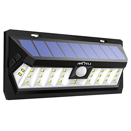 Litom Solar 30 LED, Lighting Time Sensor Light with and Waterproof Design, Solar Yard