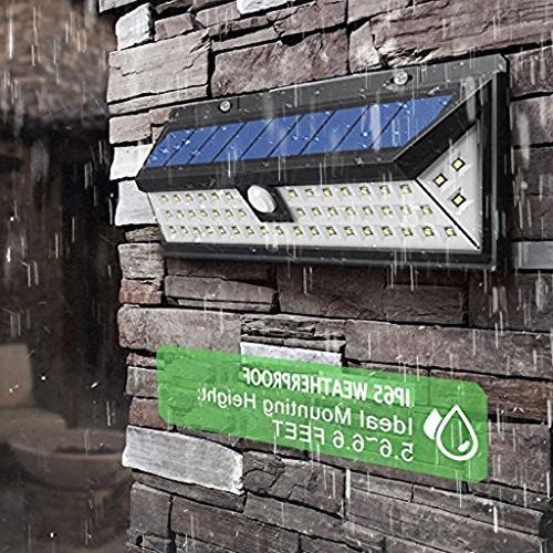 Priger Outdoor Motion Security Light - Outside LED Flood / Spotlight for Garden, - Waterproof Wireless Yard Lighting Wall Light