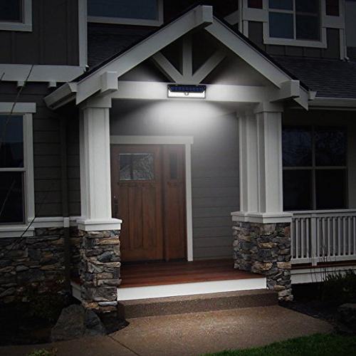 Priger Solar Motion Security - Outside / for Patio, Garden, Waterproof Wireless Solar Yard Lighting / Light