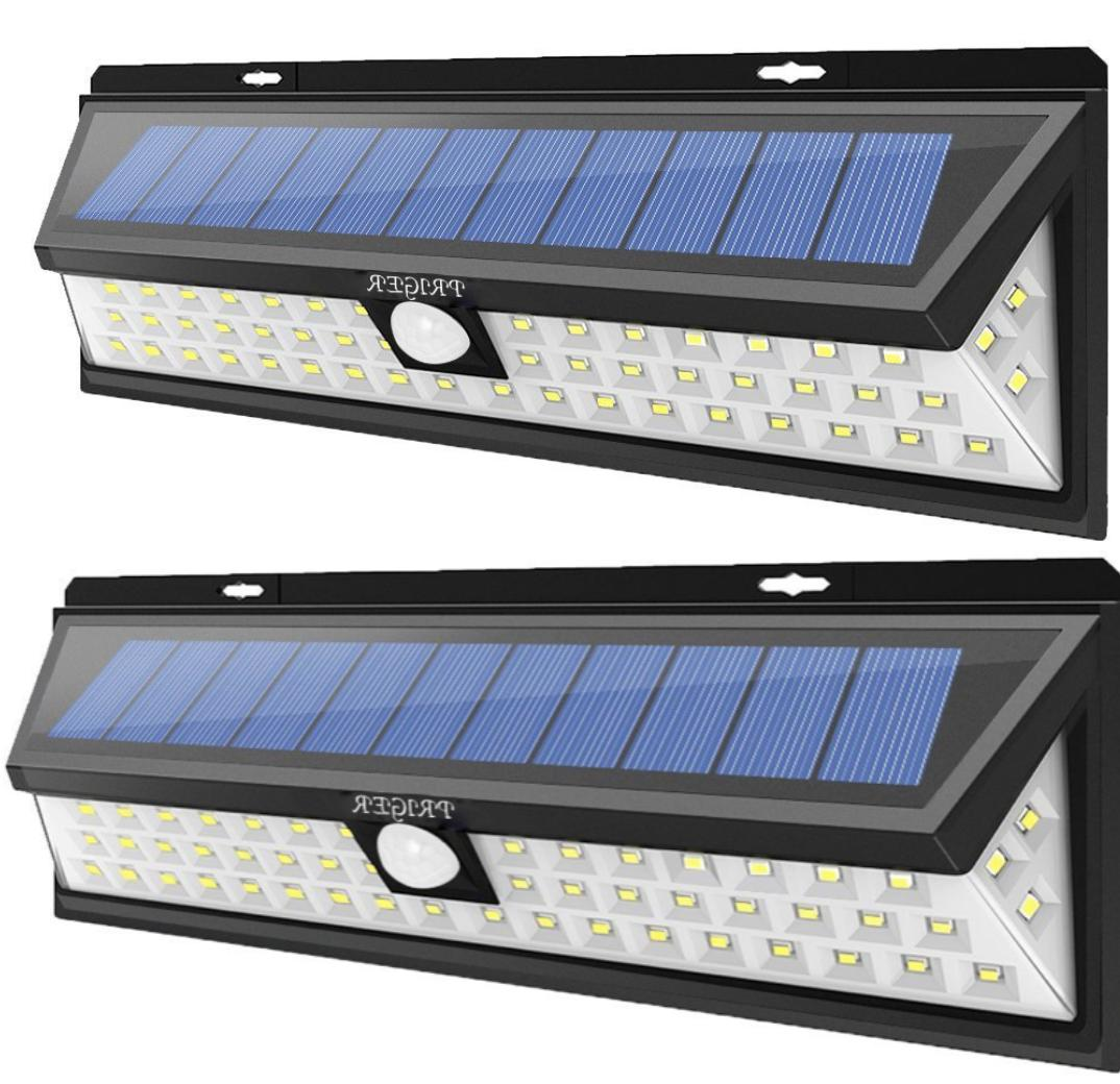 solar lights 54 led