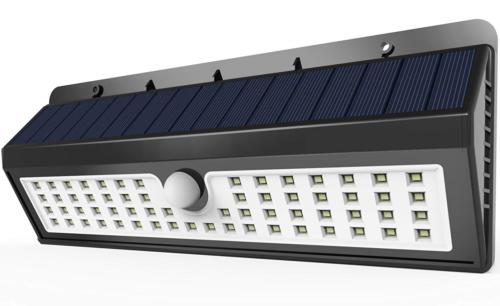Solar Lights Lemontec 62 LED Wall Security Nightlight w/ Mot