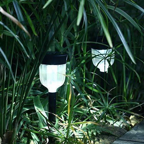 URPOWER Solar Lights 8 Pack Waterproof Outdoor Pathway Wirel