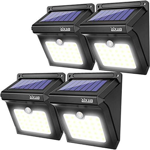 BAXIA TECHNOLOGY Solar Lights Outdoor,Wireless 28 LED Solar