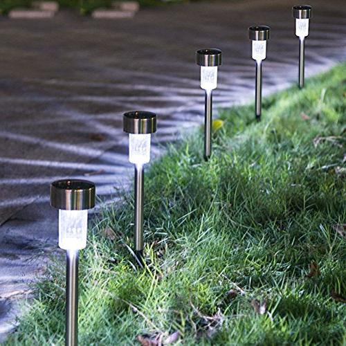 SURSUN Powered Pathway Bright White-Landscape Light for Lawn/Patio/Yard/Walkway/Driveway,