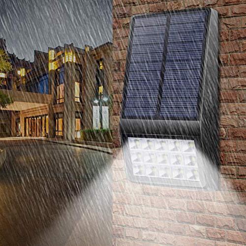Solar Outdoor Pack - LED Motion Lights DIM Solar Security for Deck