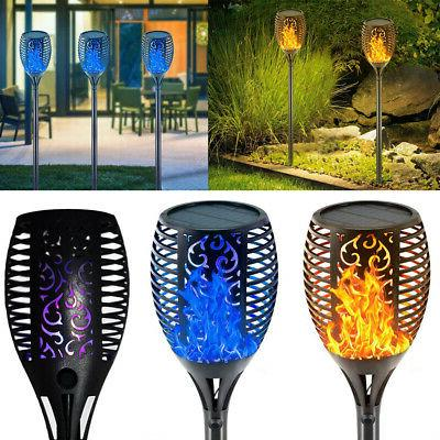 33 LED Solar Lights Flickering Flame Solar Torches Lights Pa