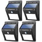 Solar Lights Flood & Security 8 LED Wireless Waterproof Moti