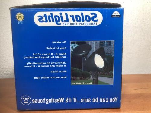 Westinghouse Lighting Charges In Sun or 2ct New