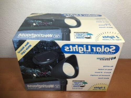Westinghouse Solar Lighting Charges In Sun New