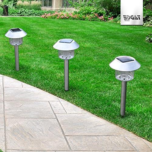 LED Lights Landscape Lighting – Sun Powered Yard For Ground Pack