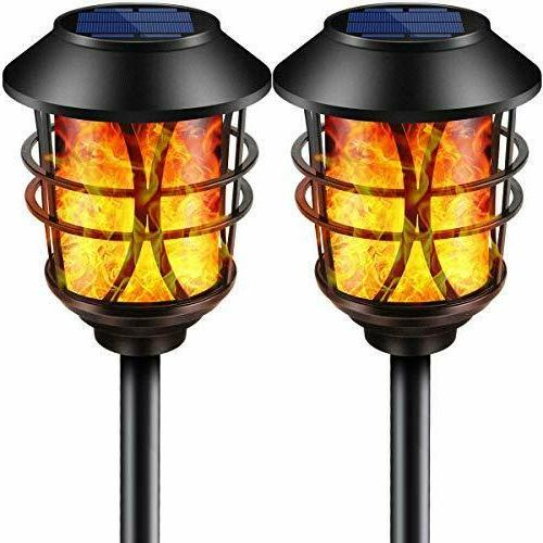 TomCare Flickering Lights Waterproof Duty to Dawn for 2