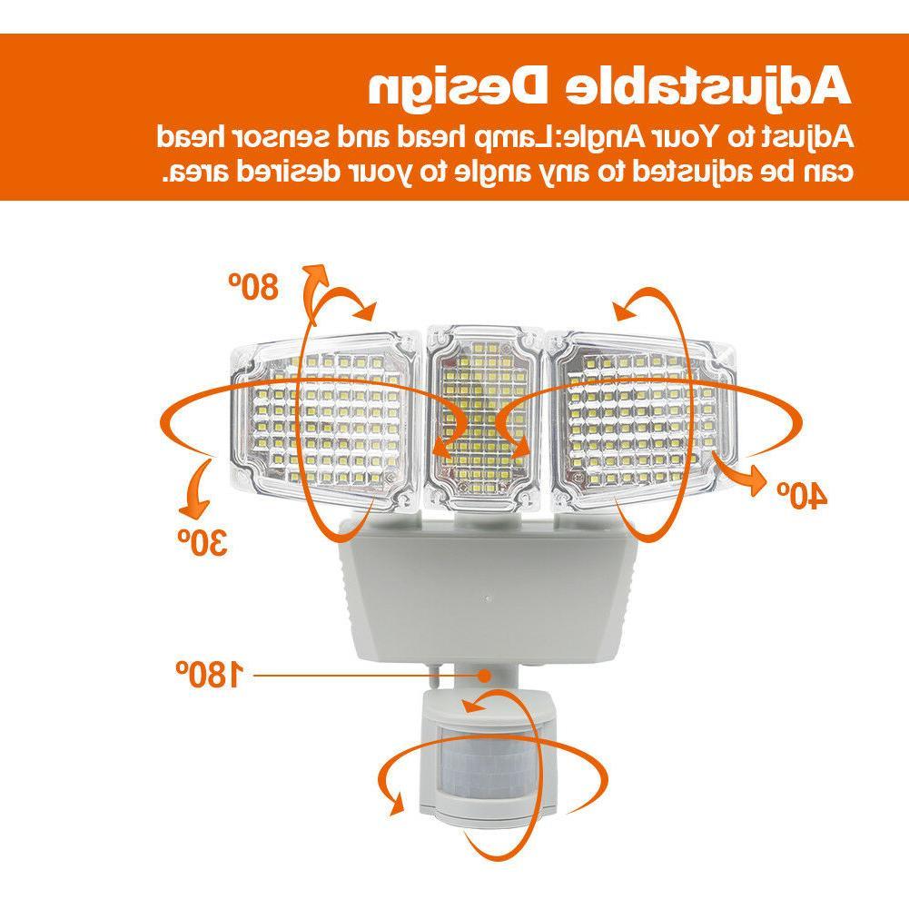 Solar 182 LED Lumens Outdoor