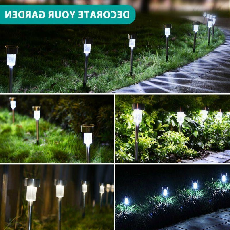 Sunnest Solar Lights - 12 Pack Outdoor Solar Garden Lights So