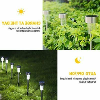 Stainless Outdoor Solar Lights