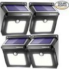 ZOOKKI Solar Lights Outdoor 28 LED, Super Bright Motion Sens
