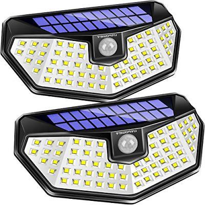 solar lights outdoor 3 modes solar motion