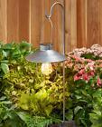 Solar Lights Outdoor Lantern Metal Garden Stakes Marine Styl