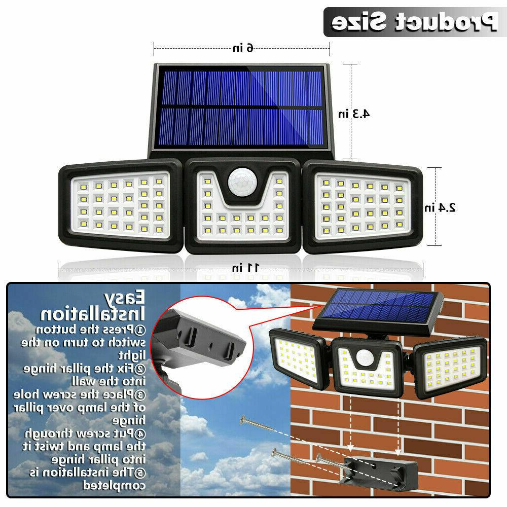 1/2PACK Solar Lights Sensor, Waterproof Adjustable