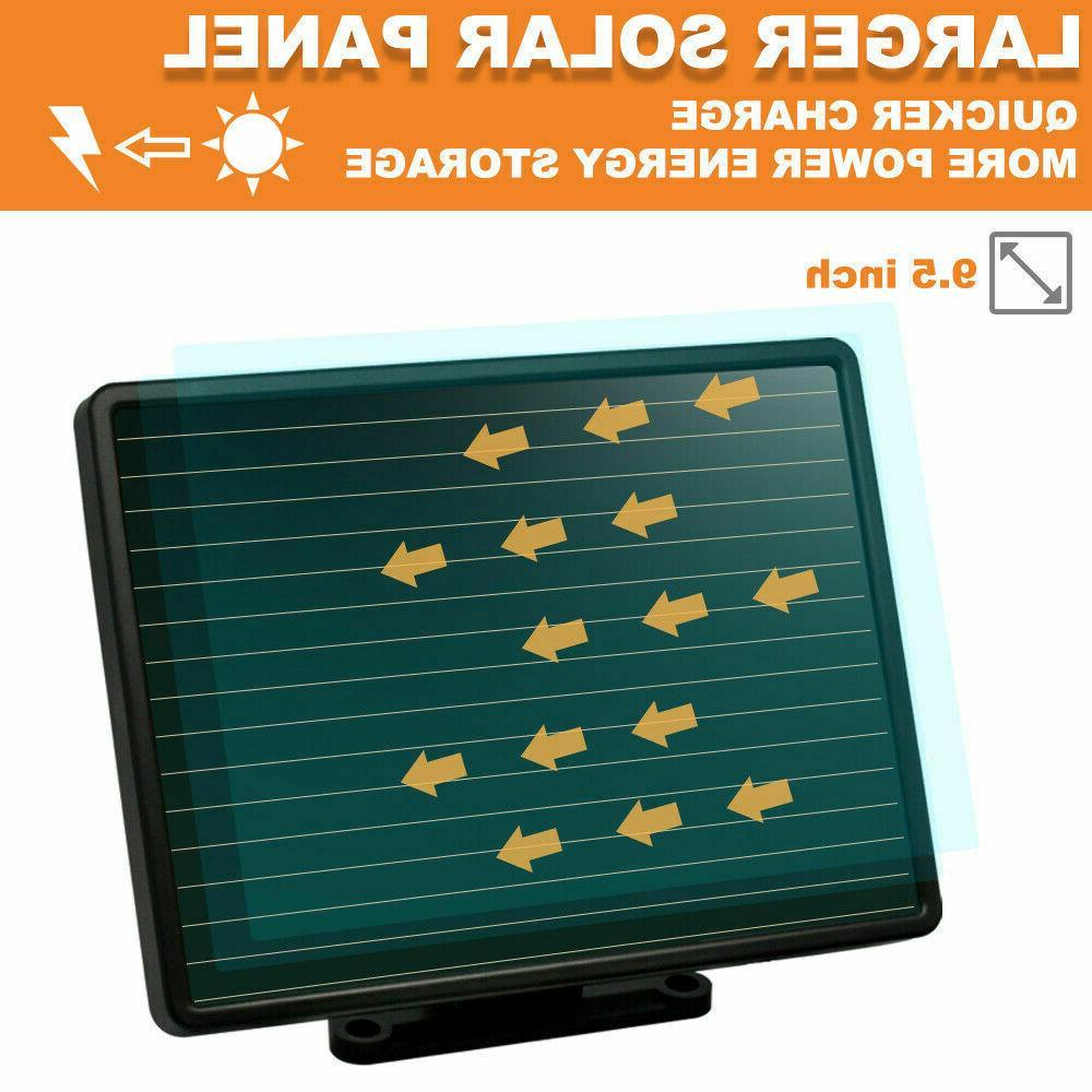 Solar Lights Sensor LED Lumens
