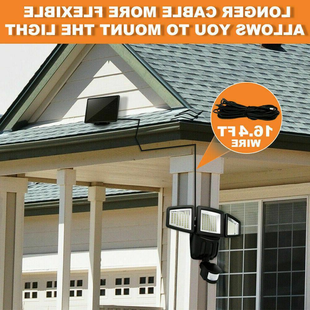 Solar Outdoor Sensor 1000 Lumens