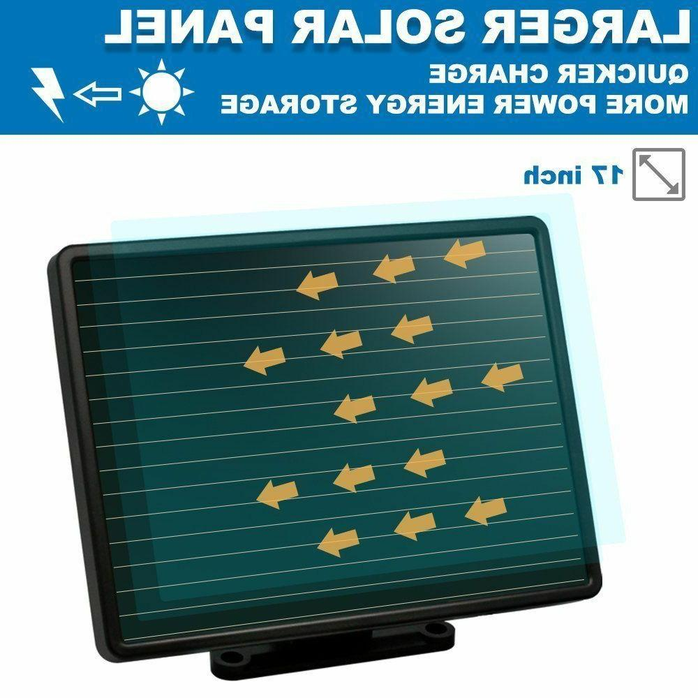 Solar Lights Sensor 182 LED Lumens Solar Lights Weatherproof