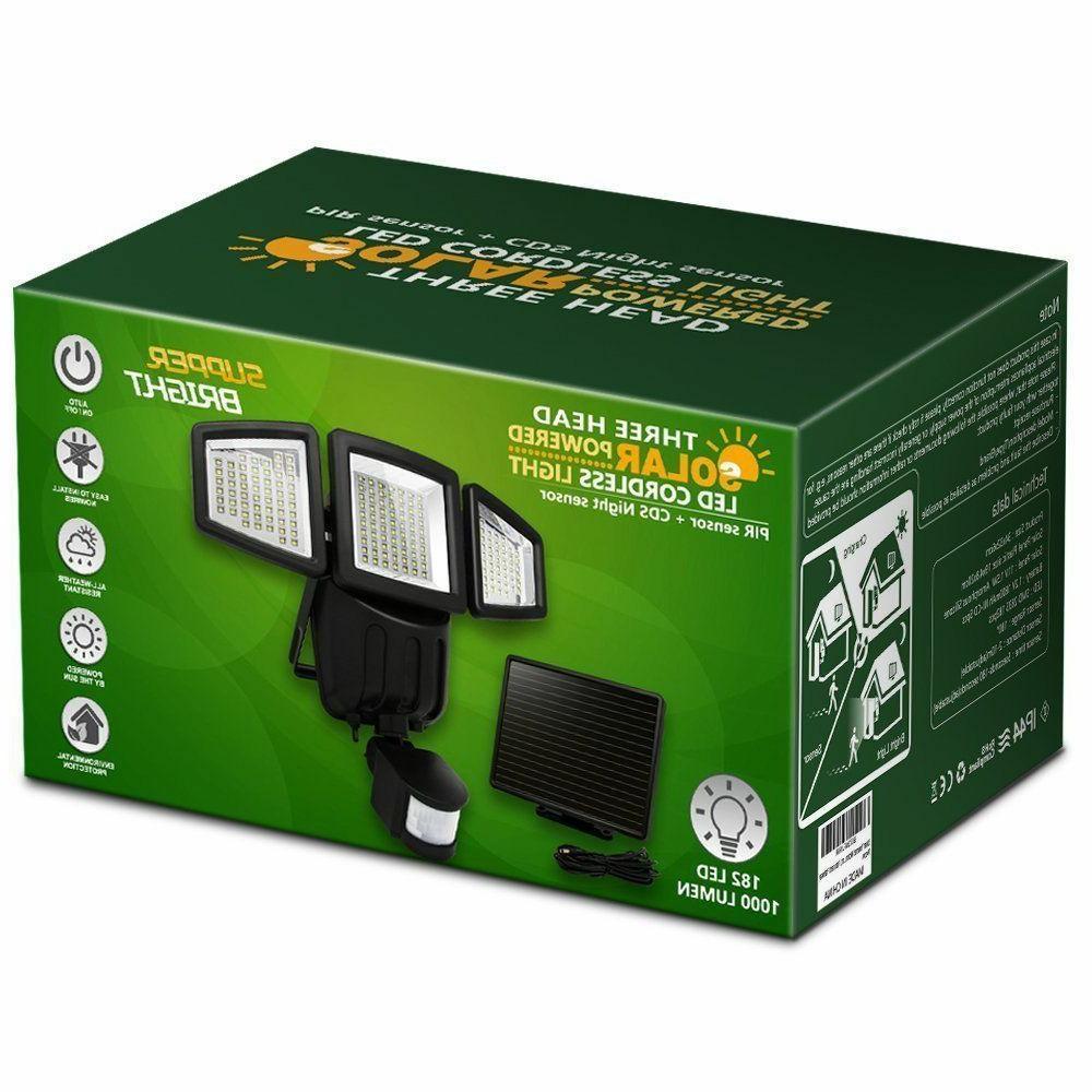 Solar Lights Sensor Lumens Solar