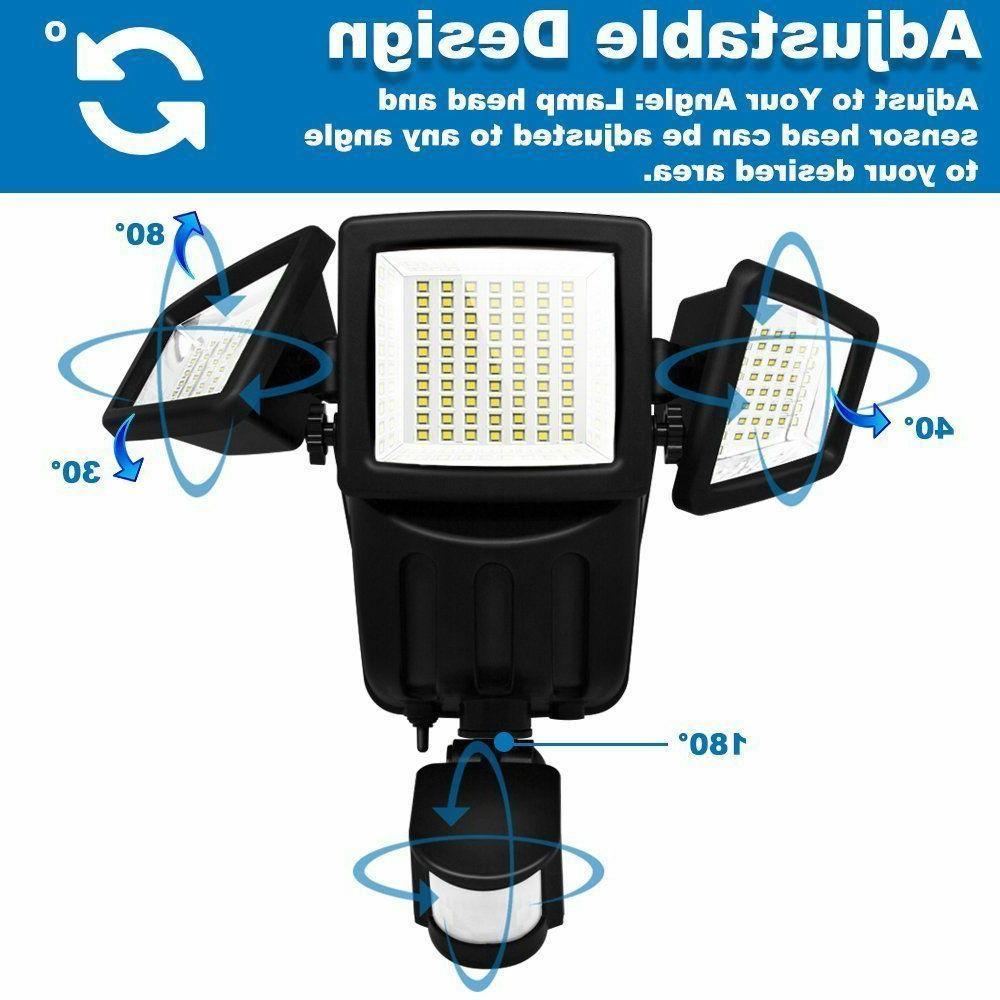 Solar Lights Outdoor Motion Sensor 182 Lumens Solar Lights Weatherproof
