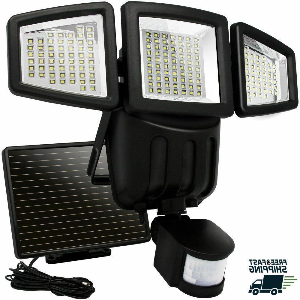 solar lights outdoor motion sensor 182 led