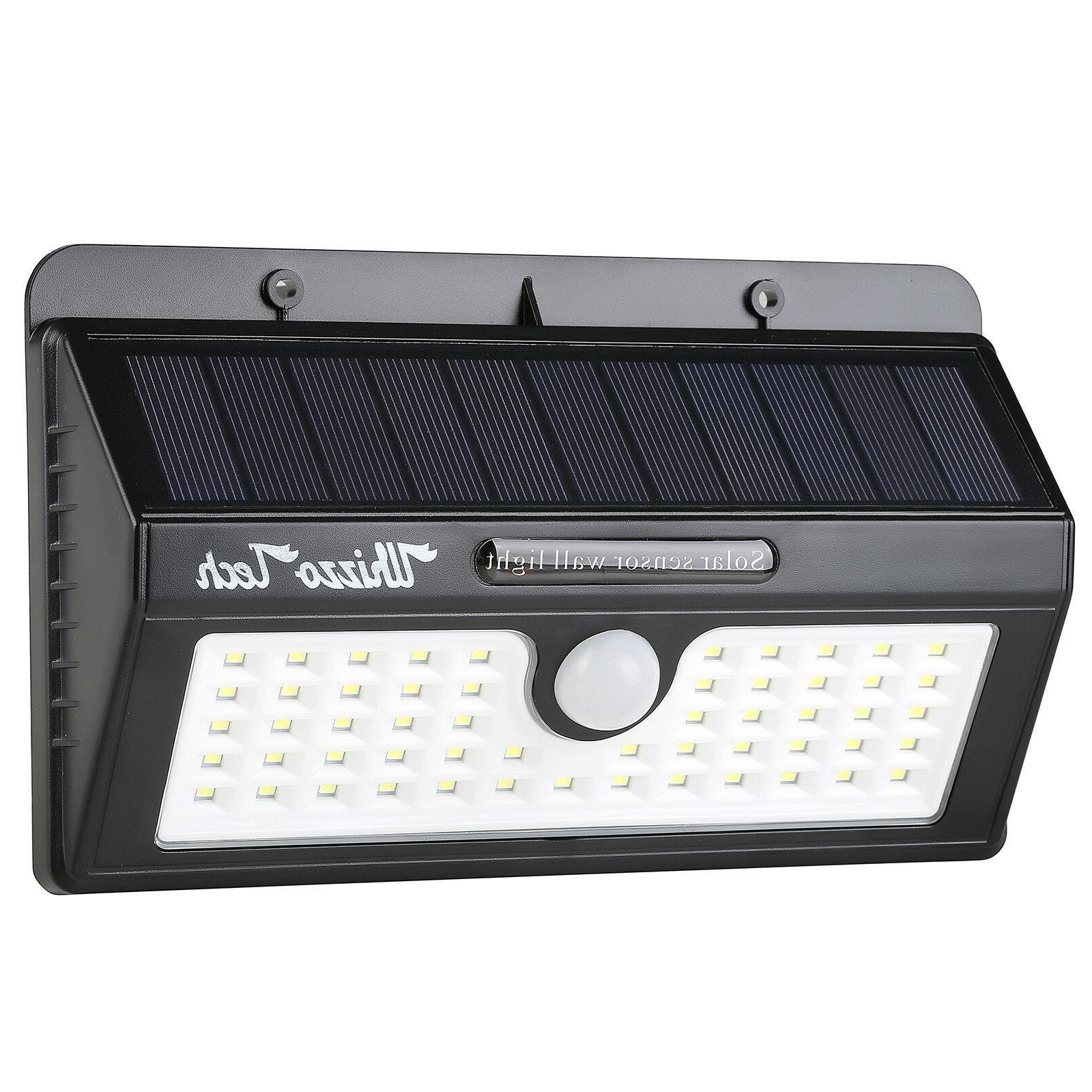 Outdoor Lights Sensor Garden LED