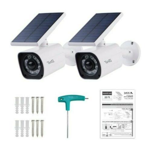 Solar Security Bright Led Lights Sensor 2pk