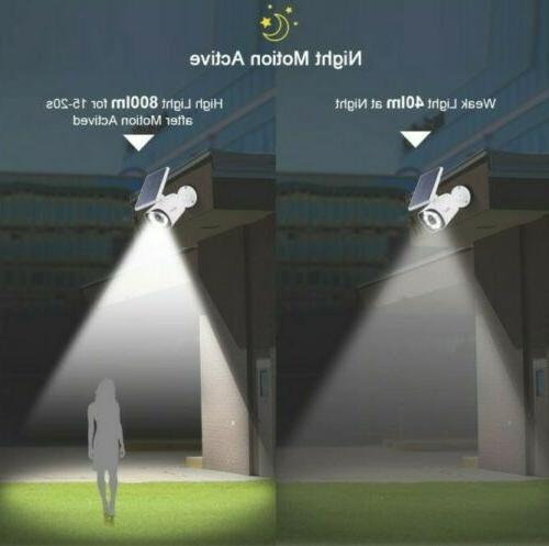 Solar Outdoor Security Lights with 2pk