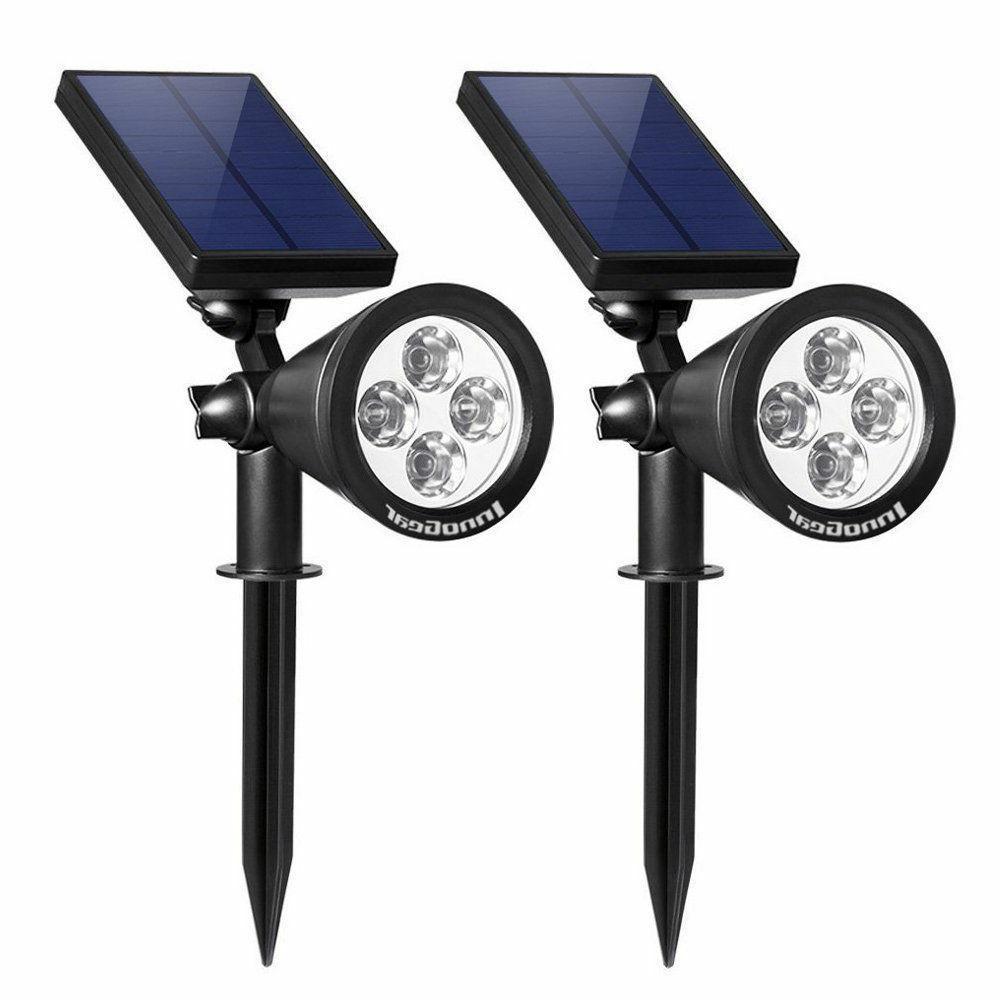 - InnoGear Solar Lights Outdoor Spotlight Lighting Wall Ligh