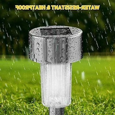Solar Steel Waterproof Lighting 12Packs