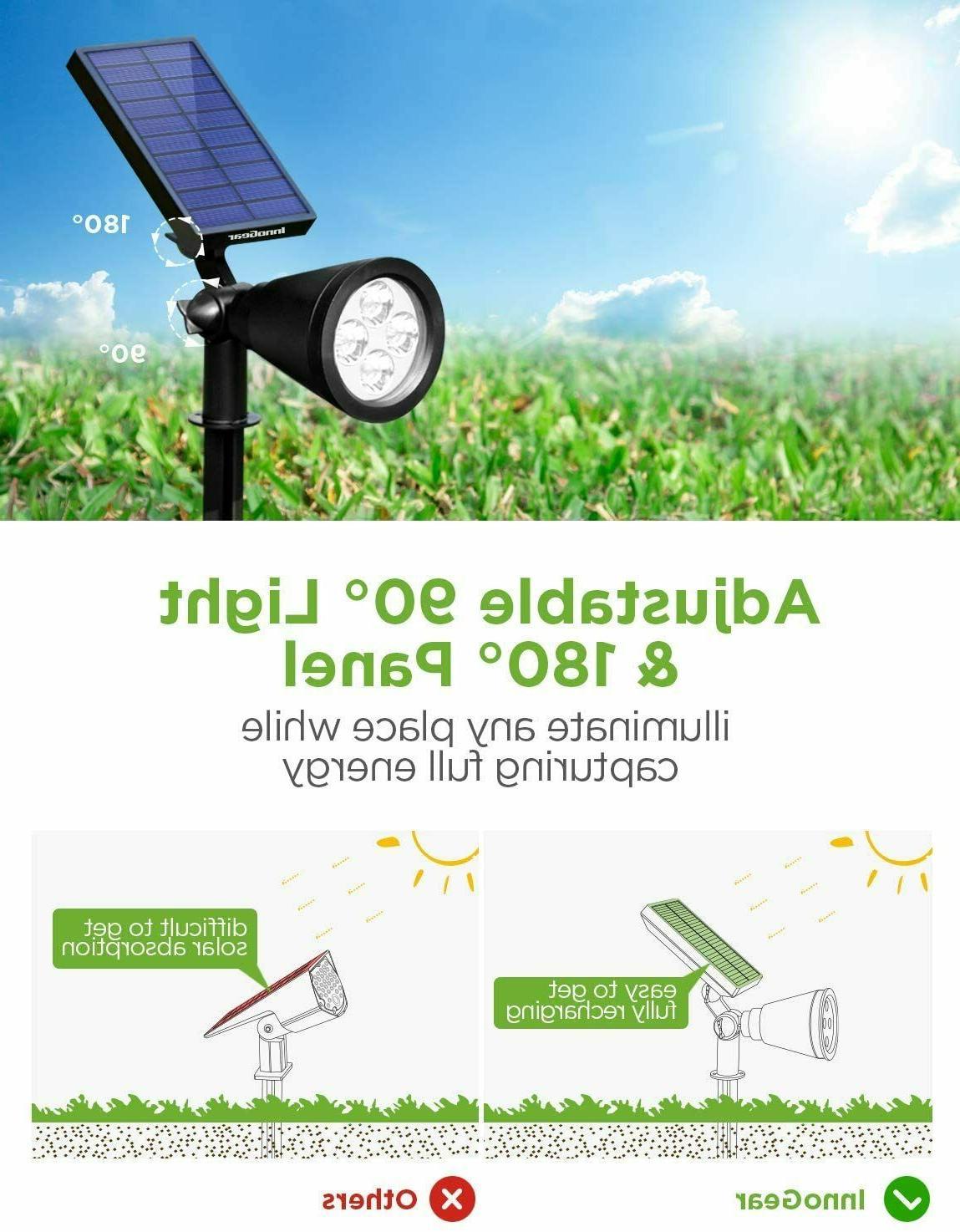 InnoGear Lights Outdoor, Upgraded Solar Powered Landscape