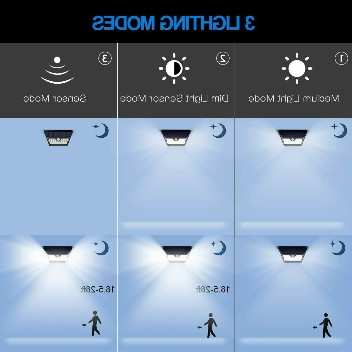 Solar Outdoor Wide Wireless Motion Sensor Security