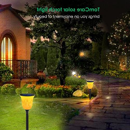 TomCare Path Lights Torches Lights Lighting Dusk to Auto On/Off for Patio Yard