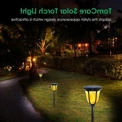 TomCare Torches Lights Waterproof Dancing Flame Outdoor