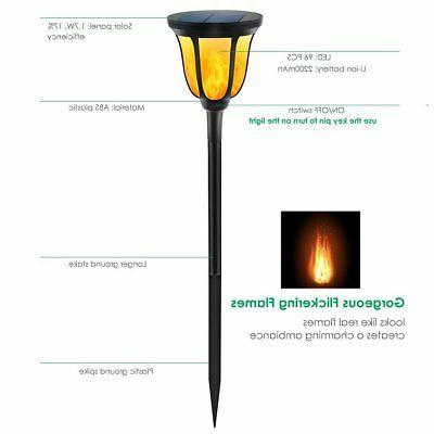 TomCare Lights Torches Lights Waterproof Dancing Flame