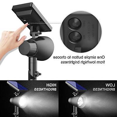 InnoGear 2-in-1 Waterproof LED Solar