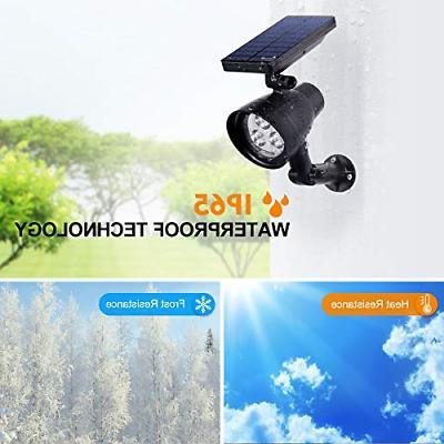 InnoGear Lights Solar Spotlight Wall