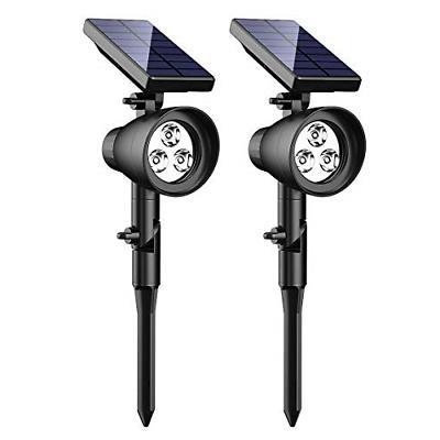 solar lights upgraded 2 in 1 waterproof