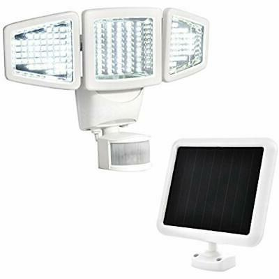 solar motion activated light 150 led triple
