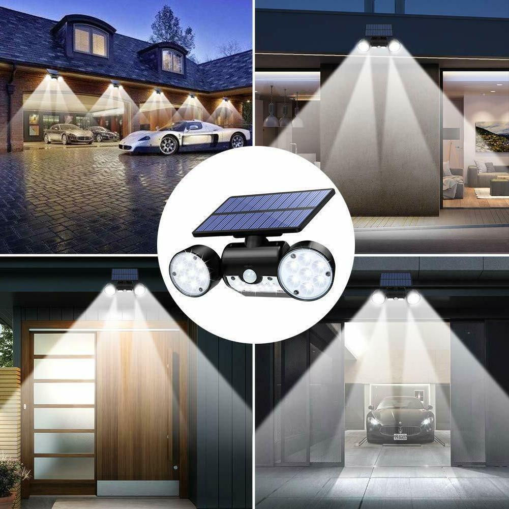 Solar Motion Home Light Flood Guardian Torch Spotlight